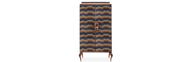 maison et objet Maison Et Objet Paris 2019: Exquisite Cabinets To Impress divine armoire 2 feathers 1