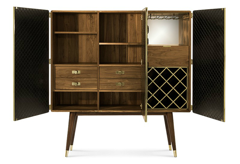 buffets and cabinets, design ideas, luxury brand, modern furniture, interior design, interior designer, contemporary design, modern cabinets, maison et objet maison et objet Maison Et Objet Paris 2019: Exquisite Cabinets To Impress monocles cabinet zoom 03