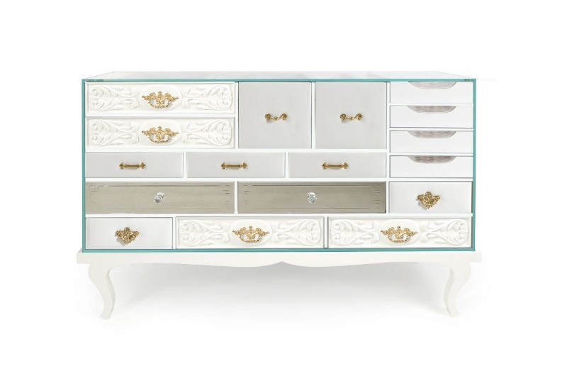 buffets and sideboards Modern Buffets and Sideboards of Neutral Color 3 2
