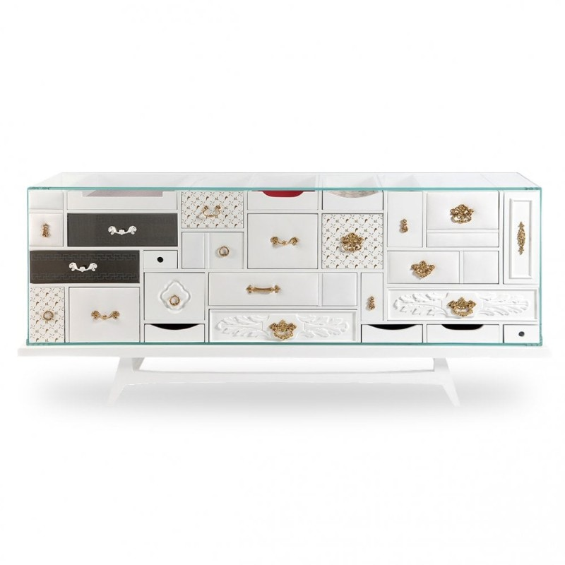 buffets and sideboards Modern Buffets and Sideboards of Neutral Color 7 2
