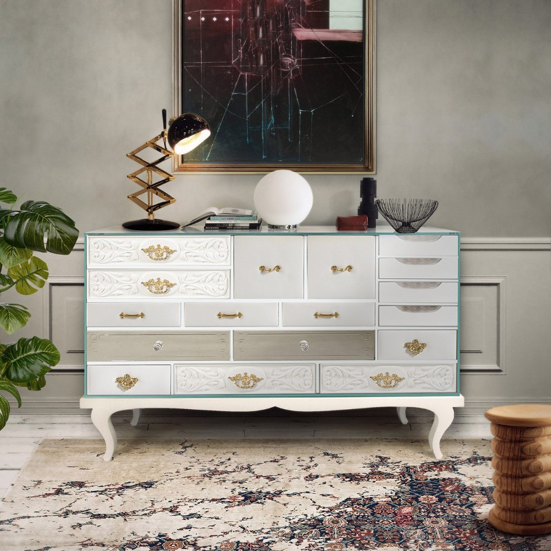 buffets and sideboards Modern Buffets and Sideboards of Neutral Color 8 2