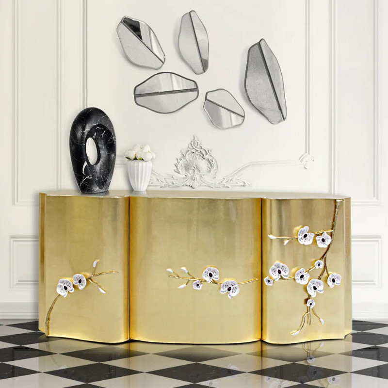 luxury sideboards Top 5 Luxury Sideboards for Your Opulent Living Room pic1 1