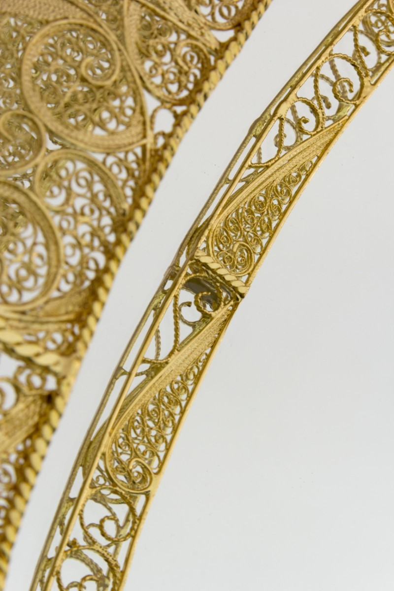 Filigree A Perfect Filigree Mirror To Match Every Modern Buffet and Cabinet 3 5