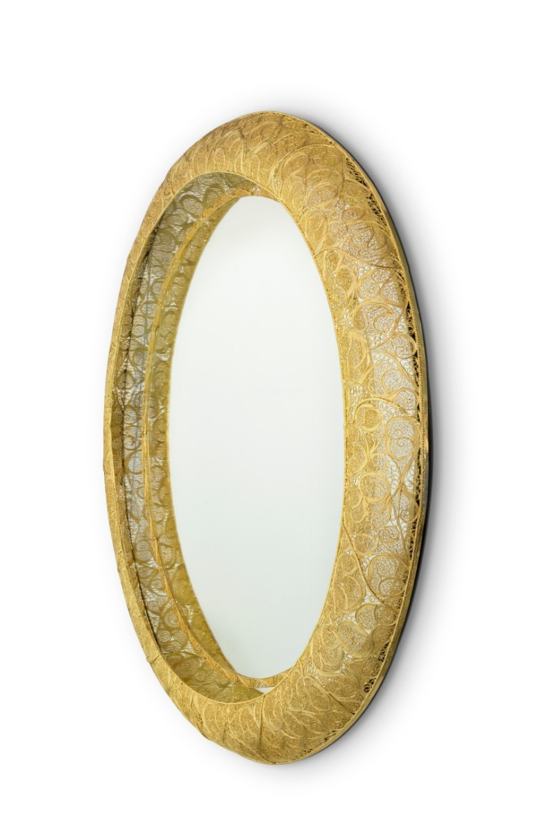 Filigree A Perfect Filigree Mirror To Match Every Modern Buffet and Cabinet 4 4