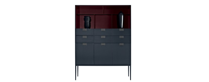 modern cabinets Modern Cabinets By Luxury Brands That Will Be At Salone Del Mobile 01 Storage Unit Bookcase Citterio Alcor Storage Unit LX01 LUX 0