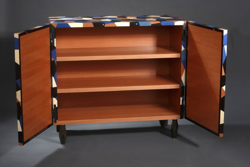 Exclusive Cabinets by Limited Editions Collections - Autumn Blue Cabinet exclusive cabinets Exclusive Cabinets by Limited Editions Collections AutumnBlue Cabinet inside