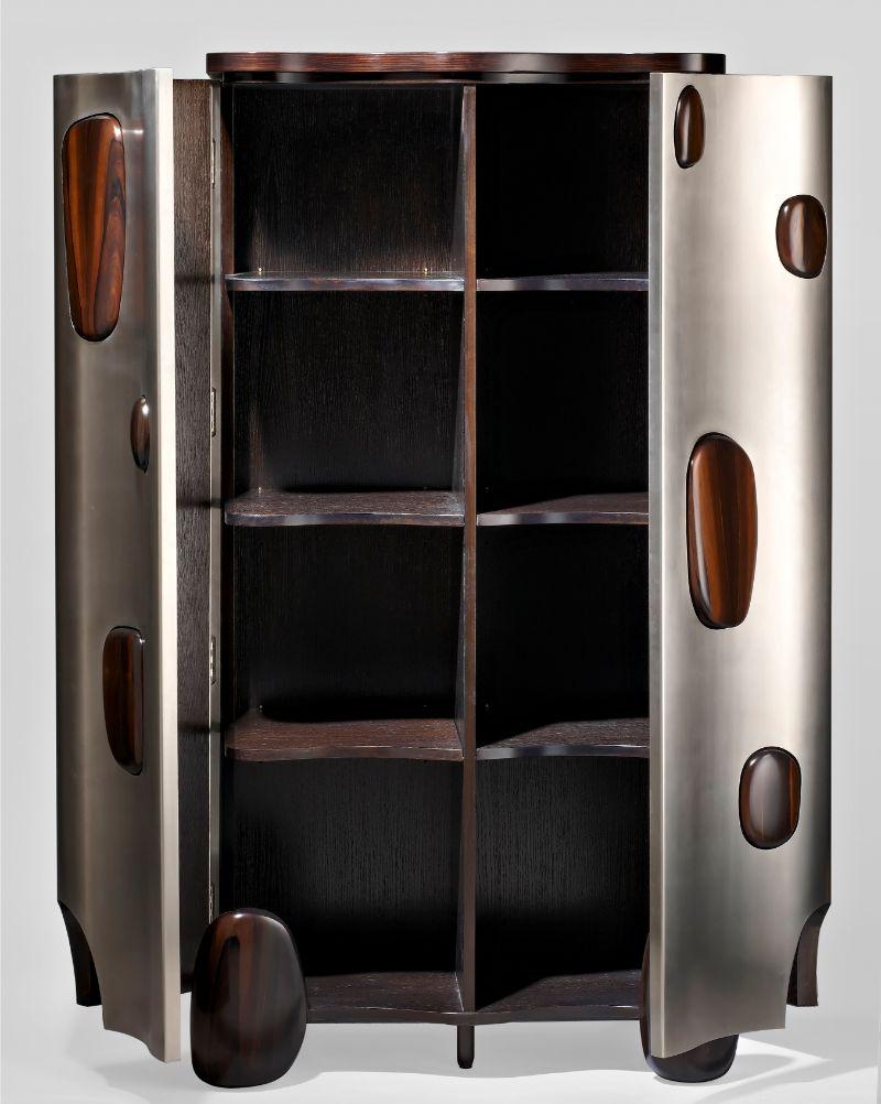 Artsy Modern Cabinets by Hubert Le Gall hubert le gall Artsy Modern Cabinets by Hubert Le Gall Armoire Mahjong fermee