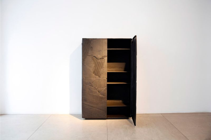 Fredrikson Stallard's New Modern Cabinet Made Out of Cardboard