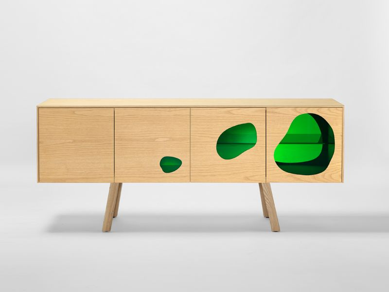 Modern Cabinets Perfect For Summertime by Campana Brothers