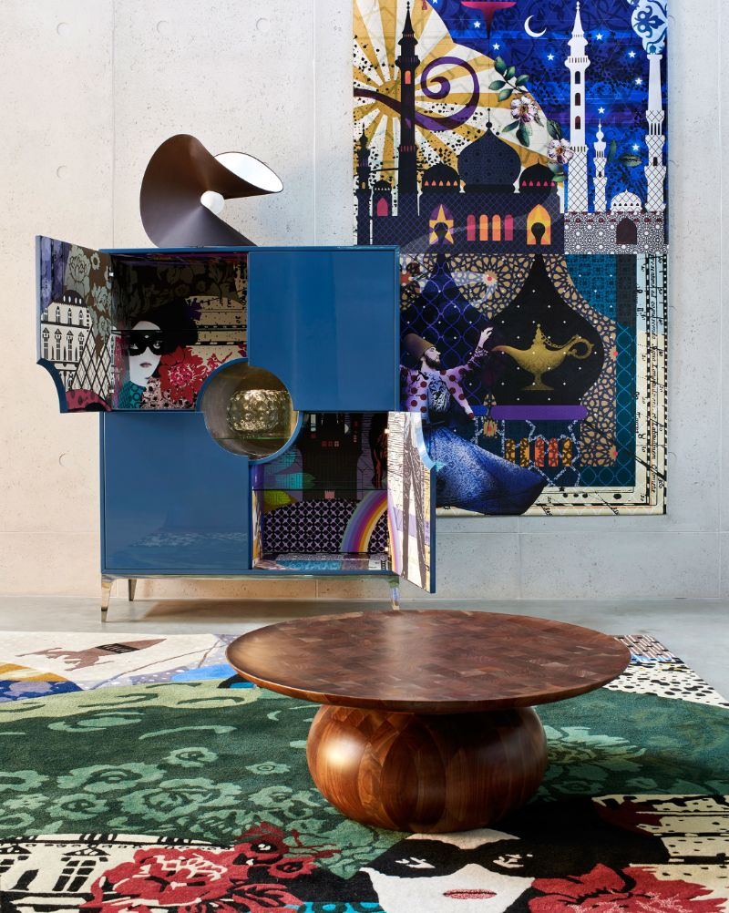Wonder Cabinet - Marcel Wanders' Creation for Roche Bobois marcel wanders Wonder Cabinet – Marcel Wanders' Creation for Roche Bobois Wonder Cabinet 4