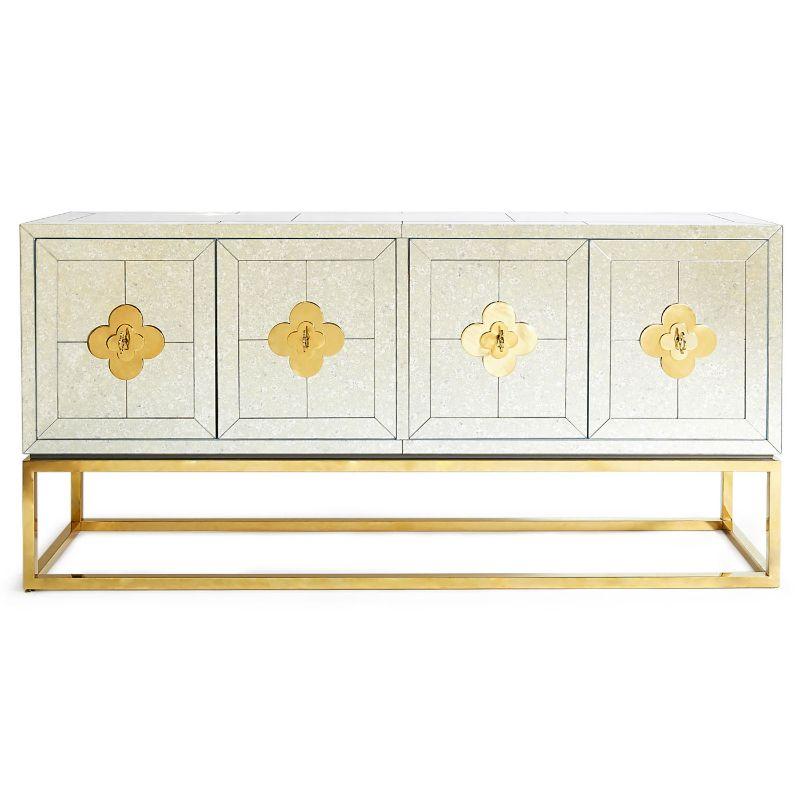 Jonathan Adler's Best Luxury Credenzas jonathan adler Jonathan Adler's Best Luxury Credenzas modern furniture delphine credenza jonathan adler