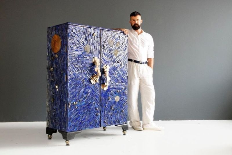 Christopher Boots Debuts The Scintillating Modern Cabinet
