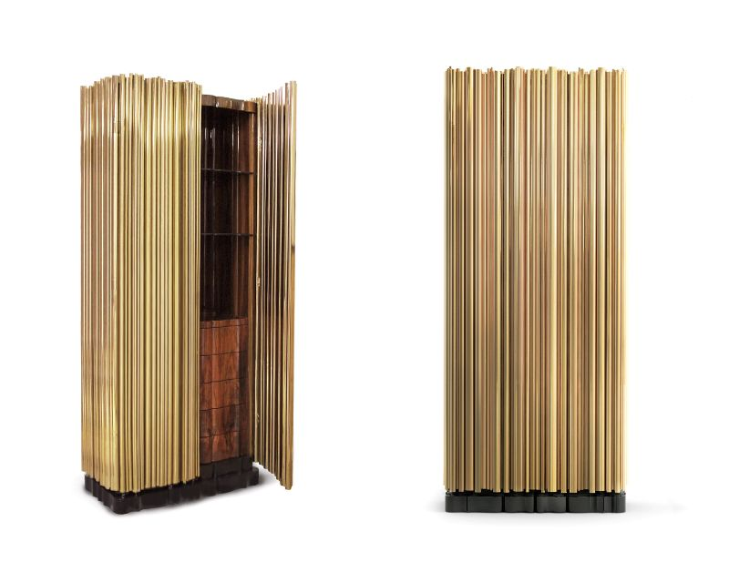 Incredible Brass Details On The Most Luxurious Modern Cabinets  Imposing Furniture: Brass Modern Cabinets For A Luxury Design Symphony A Melodic Furniture Collection 2