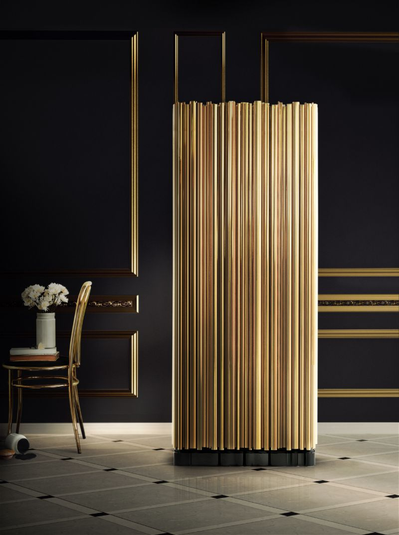 Incredible Brass Details On The Most Luxurious Modern Cabinets  Imposing Furniture: Brass Modern Cabinets For A Luxury Design Symphony A Melodic Furniture Collection