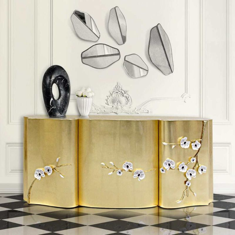 Unique Design Sideboards With Gold Details Sounds Perfect! (7)