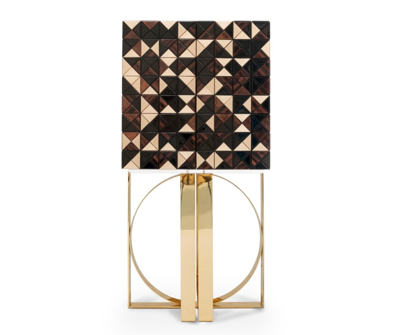 Pixel Walnut - A Fresh Cabinet Design From Maison Et Objet 2019 (4)