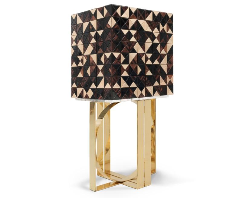 cabinet design Pixel Walnut – A Fresh Cabinet Design From Maison Et Objet 2019 Pixel Walnut A Fresh Cabinet Design From Maison Et Objet 2019