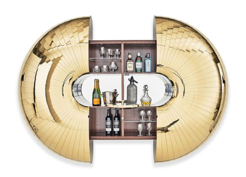 This Exquisite Bar Cabinet Design The Statement Piece You Need